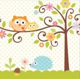 Happy Tree / Happy Family – Eule Babyparty