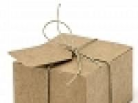 Boxes with tags, Boxen mit Anhänger