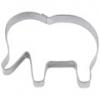 Plätzchenausstecher - Elefant