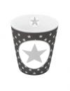 """Happy Mug """"Big Star Grey"""""""