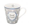 "Happy Mug with handle ""Best Dad"""