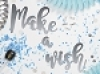 Make a wish silver banner